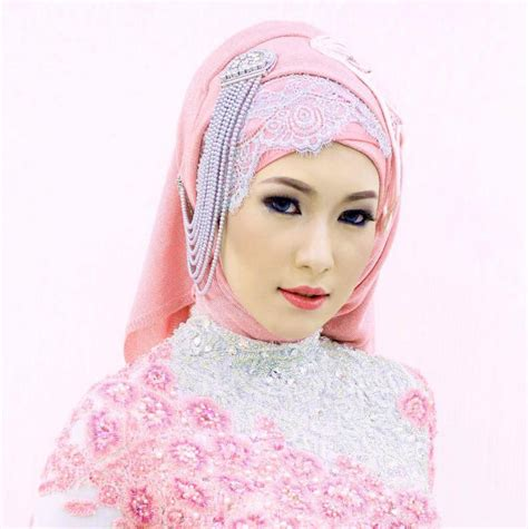 tutorial hijab wedding beautiful wedding hijab tutorials hijabiworld