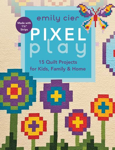 Pixel Quilt Pattern quilting is therapy pixel play tour quilting is