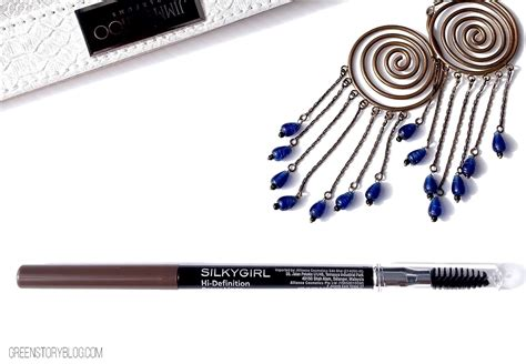 Makeup Kit Silkygirl silkygirl brow liner brown review swatch