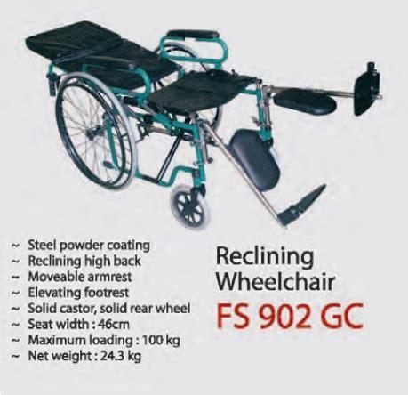 Kursi Roda Di Glodok kursi roda gea fs 902 gc 3in1 toko alat kesehatan di