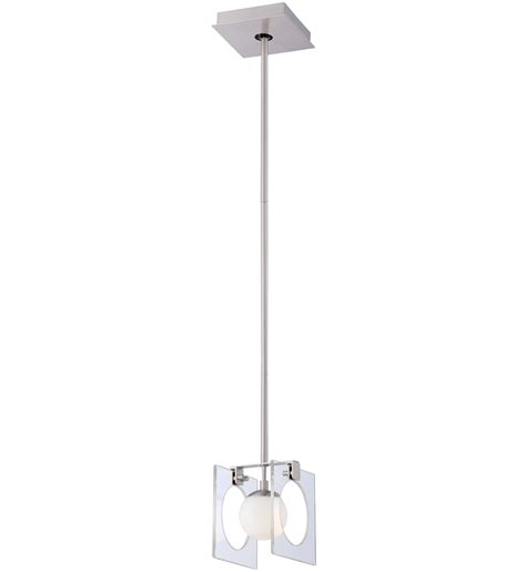 George Kovacs P1803 084 Pontil 3 Light Mini George Kovacs P991 084 Brushed Nickel In One 1