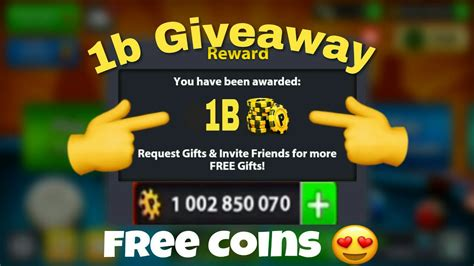 8 Ball Pool Giveaway - 8 ball pool how to get free 1 billion coins giveaway no hackcheat add my hack