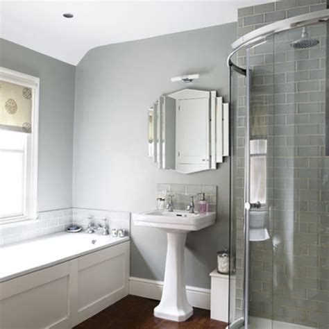 Grey Bathrooms Decorating Ideas Grey Bathroom Bathrooms Design Ideas Image Housetohome Co Uk