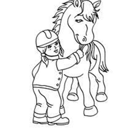 coloring page girl riding horse horse riding school coloring pages coloring pages