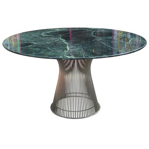 warren platner dining table iconic warren platner dining table with green marble top