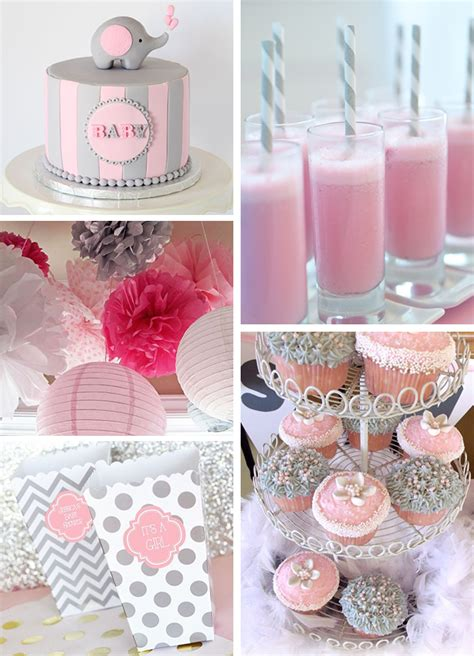 Baby Shower Elephant Ideas by Inspirations Pink And Gray Elephant Baby Shower Sweet