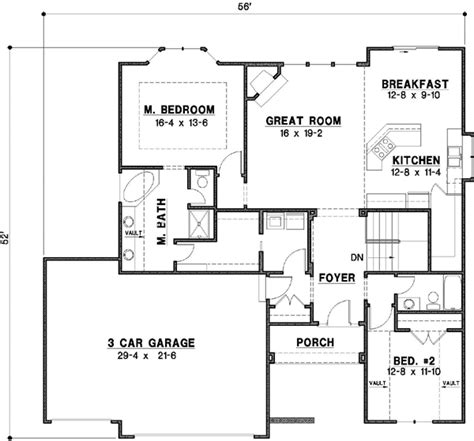 2800 square foot house plans traditional style house plans 2800 square foot home 1