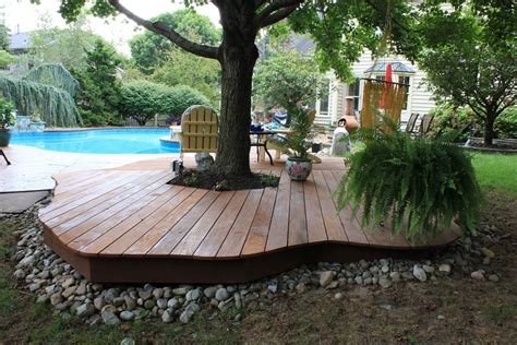 Tips On Building A Deck by Tips Enchanting Outdoor Patio Design With Ground Level