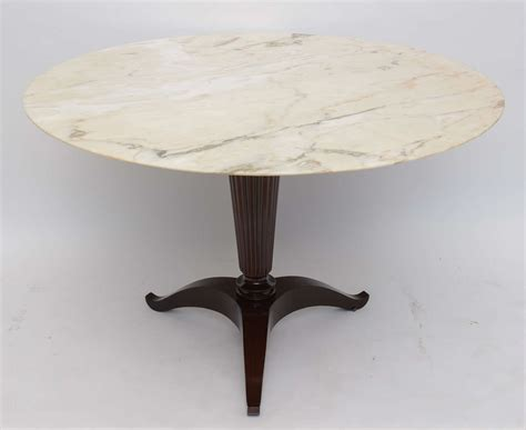 Onyx Dining Table Italian Modern Onyx And Walnut Center Or Dining Table By