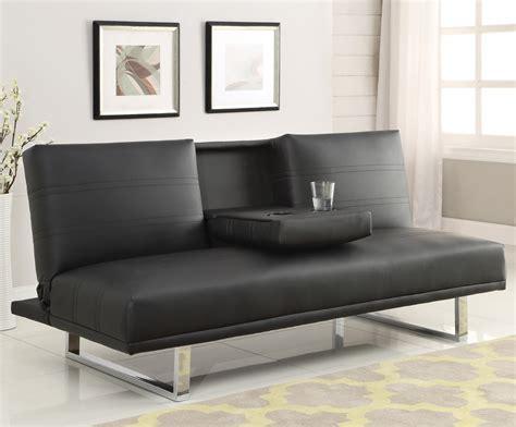 contemporary futons sofa beds and futons contemporary sofa bed with chrome