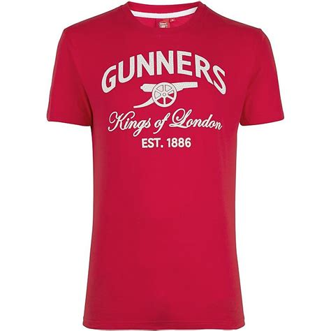 Tshirt Arsenal The Gunners arsenal of gunners t shirt official