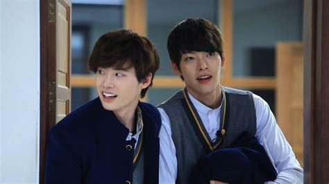 film korea lee jong suk dan kim woo bin berakting sebagai musuh 7 pasang aktor korea ini malah