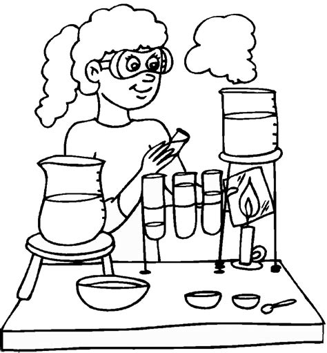 science coloring pages to download and print for free