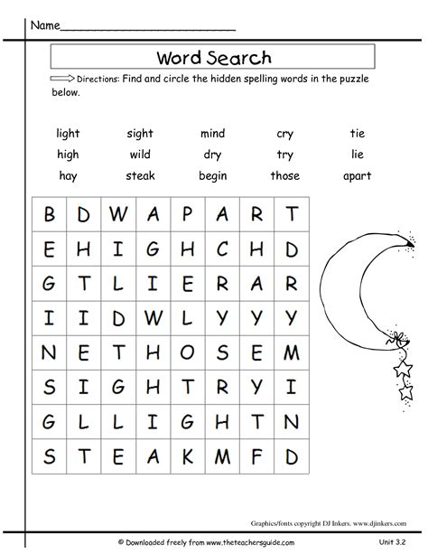 printable word search second grade 2nd grade word search worksheets free worksheets library