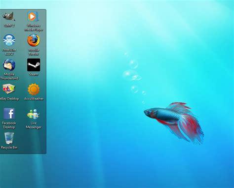 desktop wallpaper keeps disappearing windows 7 keep your desktop organized with fences techerator