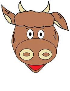 cow mask template 1019px