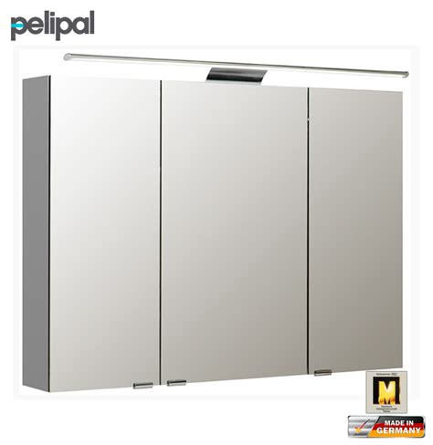 Spiegelschrank Innenspiegel by Pelipal Neutraler Spiegelschrank 100 Cm Mit Led