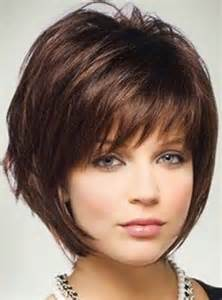 Pin medium layered haircut for thick hair round faces hairstyle ideas