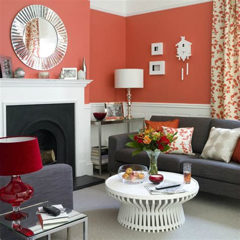 Coral Color Living Room by 10 Living Room Ideas On A Budget Decoholic
