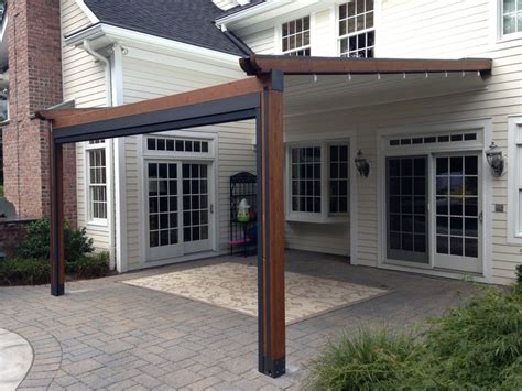Pergola With Retractable Awning by 17 Best Ideas About Retractable Pergola On