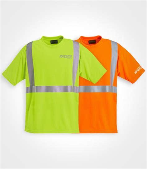 Tshirt Construction high visibility wicking t shirt artech construction