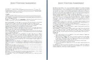 Joint Venture Agreement Template Free by Joint Venture Agreement Template Free Agreement Templates