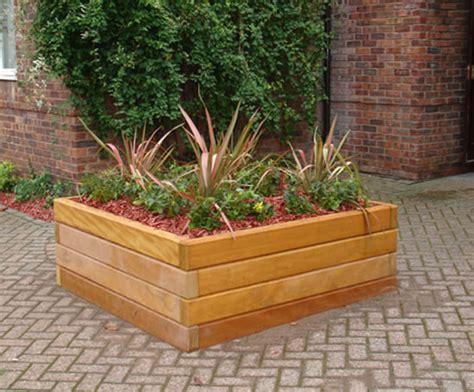 Timber Planter by Hardwood Planter Box Heritage Timber Esi External Works