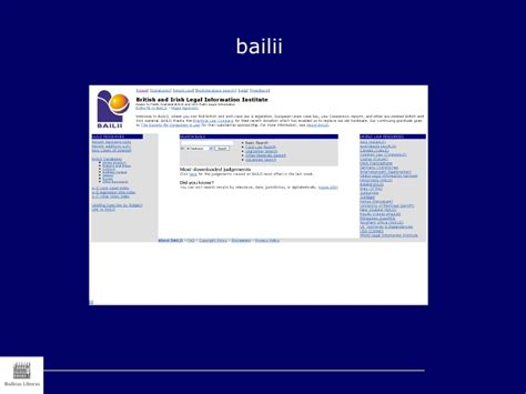 Bailii Search Common Uk Resources