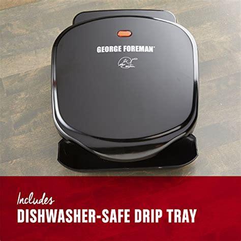 george foreman gr10b grill ch electrics kitchen george foreman 2 serving classic plate electric indoor