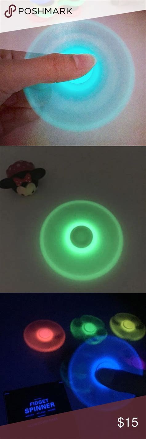 Buy 1 Get 1 Fidget Spinner Glow In The Kualit Limited glow in the fidget spinner 10 for 1 nwt