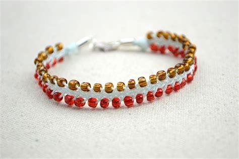 How To Make Handmade Friendship Bracelets - jewelry simple friendship bracelet for boyfriend