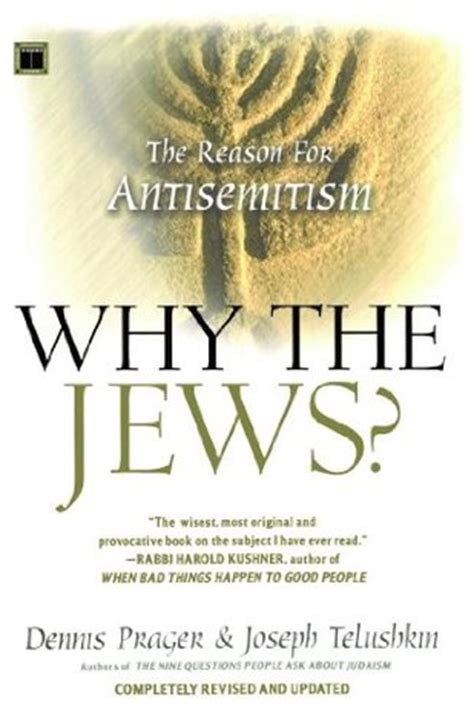 why the jews by dennis prager reviews discussion