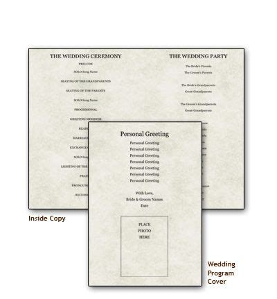 Southworth Programs Weddingzings 05 26 2012 Pinterest Southworth Templates