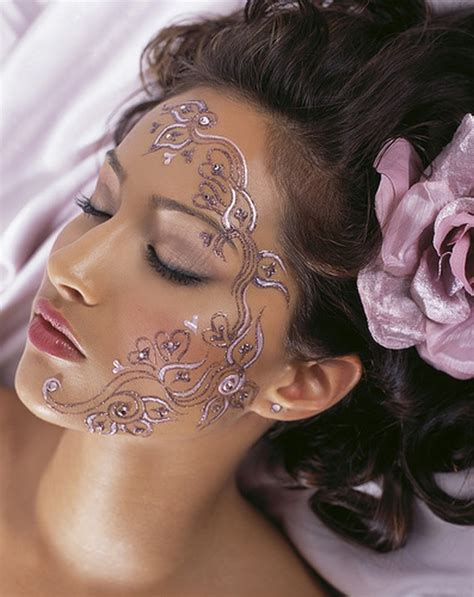 pretty face tattoo designs ideas for tattoos