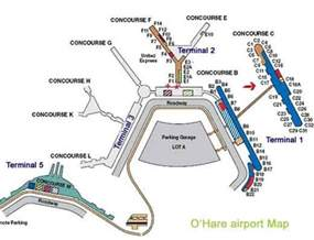 Chicago Ohare Gate Map by Ord Airport Layout Gallery