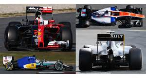F1 Cars By Year Compare Every F1 Car Of 2016 From Every Angle 2016 F1