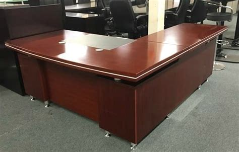 cherry wood l shaped desk cherry wood l shape desk available at arnold s office
