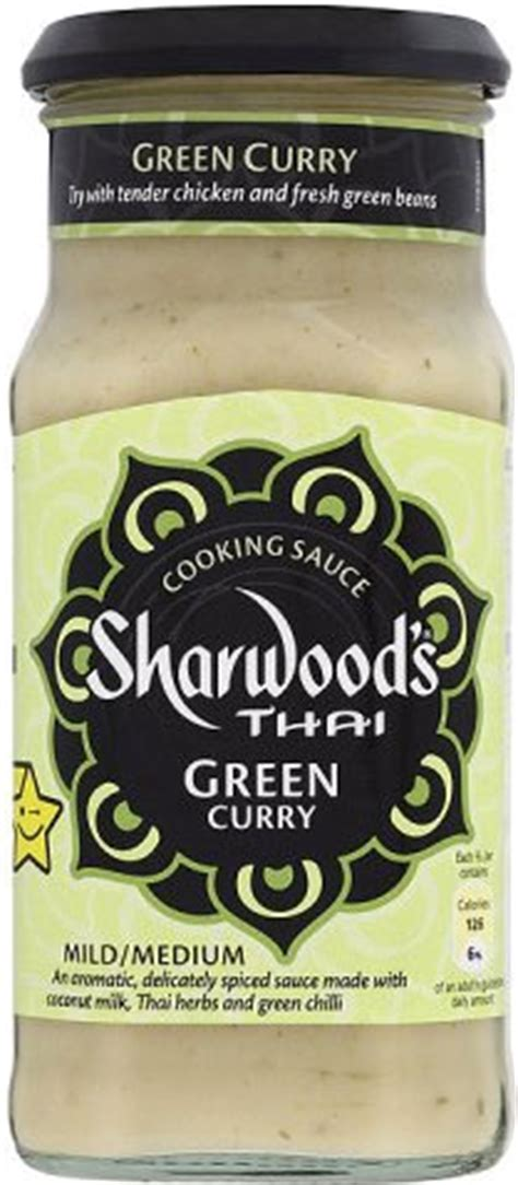 Sharwood S Thai Curry Cooking Sauce 415gr sharwood s thai cooking sauce green curry