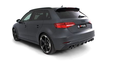 Audi S3 Facelift by Remus News Remus Product Information 12 2017 Audi S3