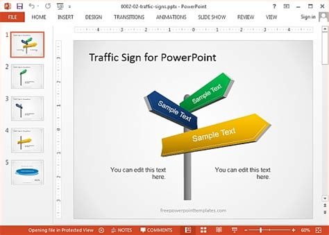 Powerpoint Template Traffic Bellacoola Co Best Site For Powerpoint Templates