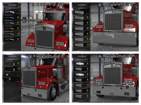kenworth parts and accessories kenworth w900 accessories pack ats ats mod american