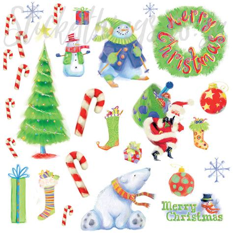 Merry Christmas Wall Stickers re usable merry merry christmas wall stickers