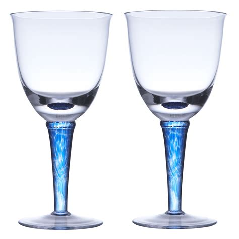 barware online denby imperial blue set of 2 red wine glasses review