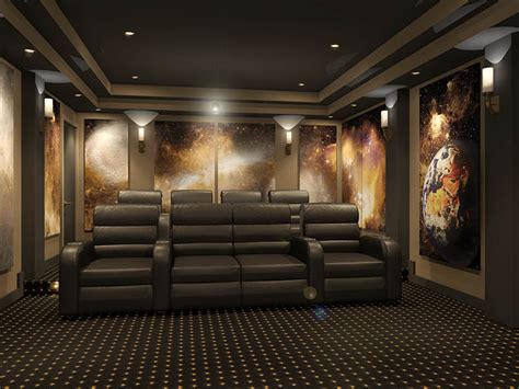 home theater design concepts home theater space murals images amazing images of
