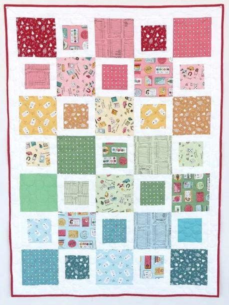 Five And Dime Crib Quilt Favequilts Com Baby Crib Quilt Patterns