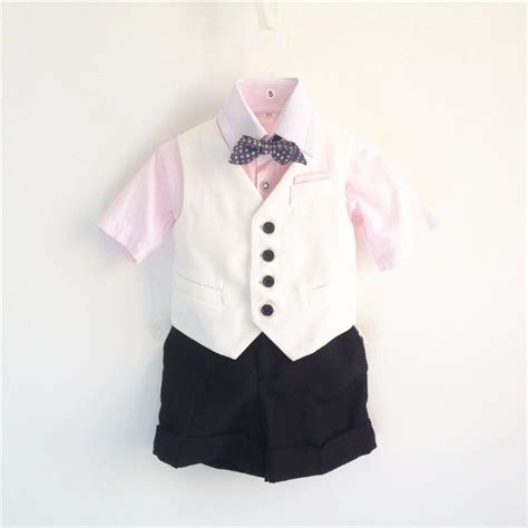 white tuxedo suit for a 1 year old brand discount toddler elegant formal suits boys 4 piece