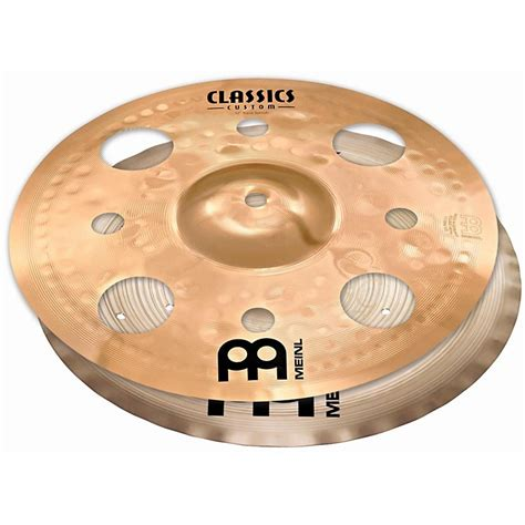 Mini China Cymbal Meinl X 12 meinl cymbal stack pair with trash splash and filter china 12 in music123