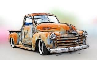 1950 chevy truck is a photograph by steve mckinzie which was uploaded