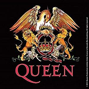 queen classic crest band logo  official cm  cm