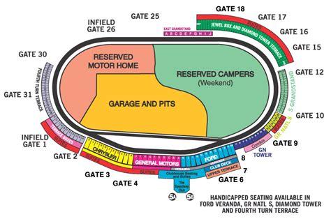 motorplex seating map tracks